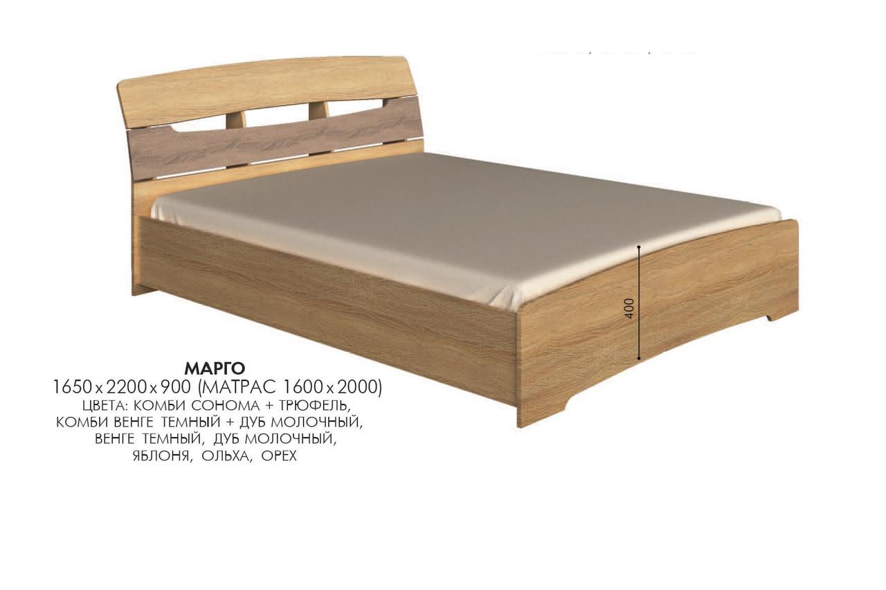 Кровать Марго, производитель мебельная фабрика Эверест