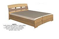 Кровать Марго, производитель мебельная фабрика Эверест, фото 1