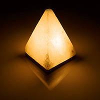 Соляна лампа BactoSfera SALTKEY PYRAMID звичайна 4,5 - 5 кг