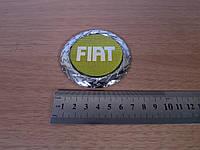 """Эмблема """"Fiat"""" желтая (D=75)"""