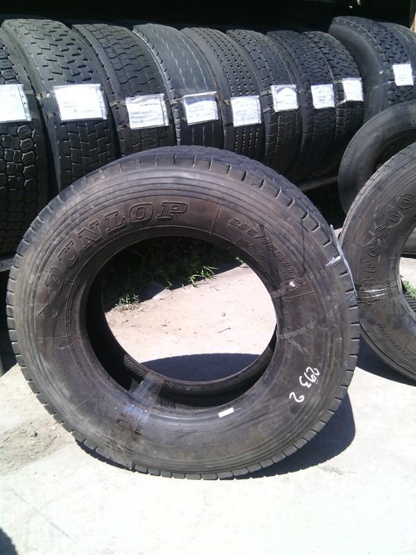 Шины б.у. 225.75.r17.5 Dunlop SP444 Данлоп. Резина бу для грузовиков и автобусов