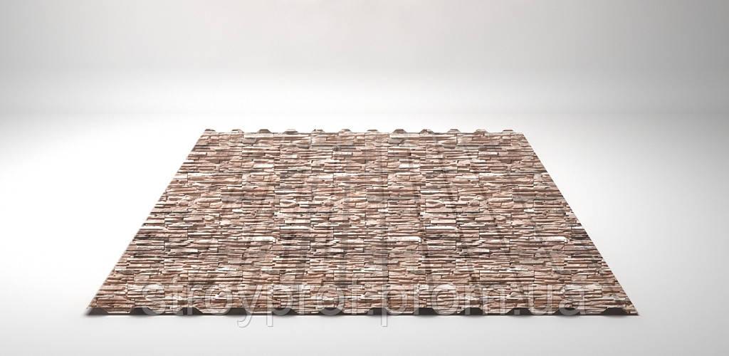 Профнастил НС-14 0,35мм, Printech камень