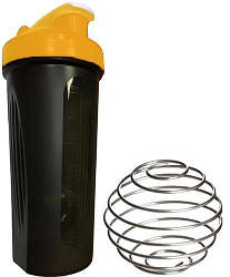 Шейкер спортивный Shake Boottle 700ml Black-Orange