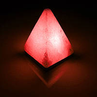 Соляная лампа BactoSfera SALTKEY PYRAMID Red 4,5 - 5 кг