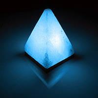 Соляная лампа BactoSfera SALTKEY PYRAMID Blue 4,5 - 5 кг