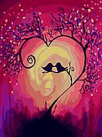 Набор для рисования Идейка Вечная любовь (KH5510) 30 х 40 см