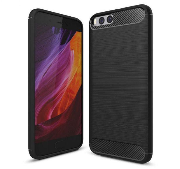 Противоударный бампер PRIMO Carbon Fiber Series для Xiaomi Mi 6