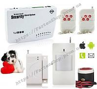 Комплект беспроводной сигнализации Alarm GSM G11 с иммунитетом на животных до 10кг