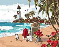Картина по номерам без коробки Идейка Испанский залив Худ Алан Гиана (KHO2825) 40 х 50 см
