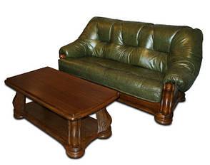 """Трехместный раскладной кожаный диван """"Sanremo"""" (210см), фото 2"""