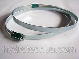 Хомут 150-180 W1 Industry червячный усиленный оцинкованный HYDRO TECH