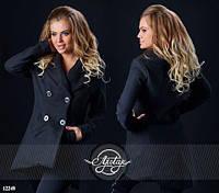 Женское пальто №087-124 большие размеры