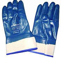 Перчатки рабочие хб с полным нитриловым покрытием