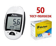 Глюкометр Finetest auto-coding Premium (Файнтест Премиум) + 50 тест-полосок