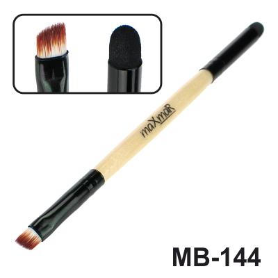 Кисть для жидких помад, консилеров, кремообразных теней и моделиров. бровей maXmaR MB-144