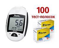 Глюкометр Finetest auto-coding Premium (Файнтест Премиум) + 100 тест-полосок