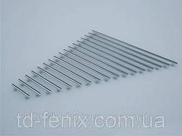 Ручка рейлинговая RE 1004-128 хром