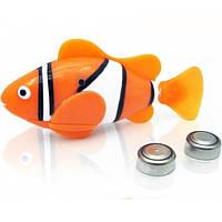 Интерактивная рыбка с аквариумом NanoFish