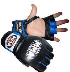 Перчатки Power System Katame MMA-006 L, Пакистан, Black-Blue