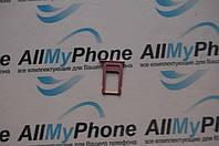 Держатель sim-карты для мобильного телефона Apple iPhone 6S Rose