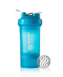 Шейкер спортивный BlenderBottle ProStak 650ml (ORIGINAL) Aqua