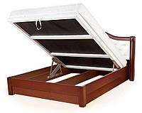 Кровать ЕКАТЕРИНА с подъемным механизмом, с мягким изголовьем, деревянная кровать из сосны, Da-Kas (Да-Кас)