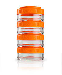 Контейнер спортивный BlenderBottle GoStak 4 Pak 4*40 (ORIGINAL) Orange