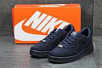 Кроссовки мужские Nike Air Force темно сині