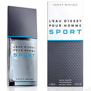 Issey Miyake Leau Dissey pour Homme Sport туалетная вода 125 ml. (Иссей Мияке Л`Еау Д`Иссей Пур Хом Спорт)