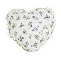 Декоративная подушка Сердце Прованс 32х32 Lilac Rose