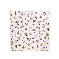 Подушка на стул с ушками Прованс 40х40 Lilac Rose