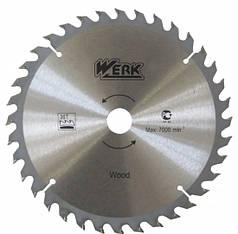 Диск пильный Werk 250х32 мм40 зуб. по дереву (WE109122)
