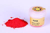 Краска сухая для цветов Sugarflair Роза