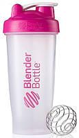 Шейкер спортивный BlenderBottle Classic 820ml (ORIGINAL) Trans-Pink