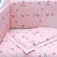 """Постельное белье в детскую кроватку """"Play whith me  pink"""" """"  Верес™ , фото 1"""