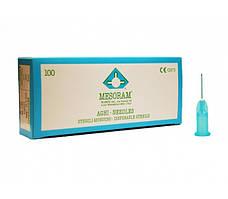 Иглы для мезотерапии  Mesoram,27G (0,40*12 мм)   (Италия)           ультра тонкие