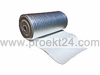 Фольгированная подложка под теплый пол с защитной ПЭТ пленкой 5мм