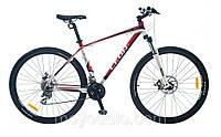 Велосипед горный LEON TN 80 (бело-красный)