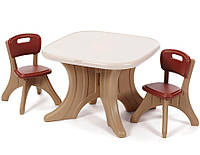 "Набор: стол и 2 стула ""TABLE & CHAIRS SET"", 50х69х69см / 54х34х33 см"