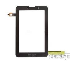 Сенсорний екран для планшетів Lenovo IdeaTab A3000, IdeaTab A5000, чорний, фото 3