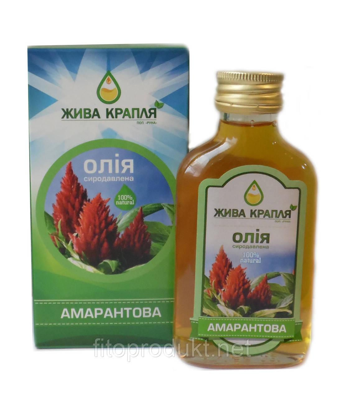 Использование амарантового масла для лица