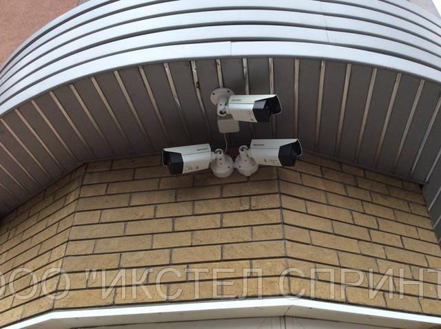 Пример установки LPR камер HIKVISION от ООО ИКСТЕЛ