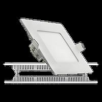 Светодиодный светильник 3Вт, СW (врезной), квадрат