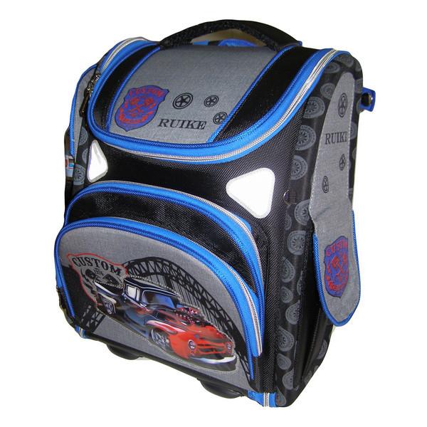 Рюкзак школьный, JASMINE - CUSTOM TRUCK, раскладной, 36*29*17 см.