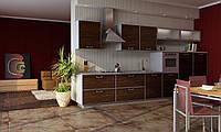 Распродажа! Кухня RODA ЙОРК: ламинированное ДСП в алюминиевой рамке, харизматичный модерн 60-х