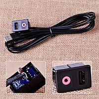 Универсальный подиум AUX USB для штатной магнитолы авто или Yatour DMC Xcarlink, фото 1