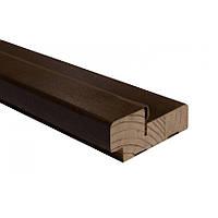 Коробка шпон 75 мм орех лесной