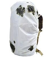 Накидка, чехол на рюкзак 130л MilTec снежный камуфляж 14060007-003
