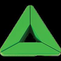 455032 ST06 Ручка мебельная Joy collection 455032 032мм цвет ST06 зелёный цвет - пластиковая Турция Cebi