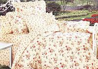 Постельное бельё полуторное 150*220 хлопок (5904) TM KRISPOL Украина